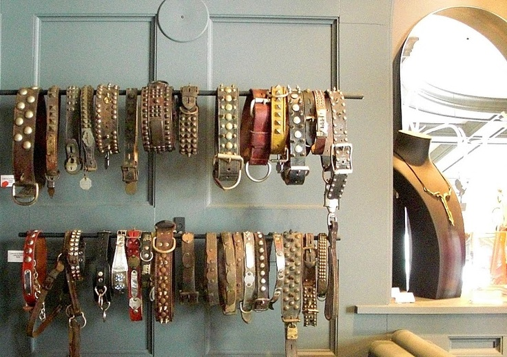 Collection of Vintage Dog Collars.