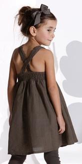 Linen and cotton summerdress