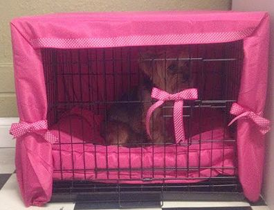 Daily Diy Pet Pattern Make A Crate Cover From A Twin Bed