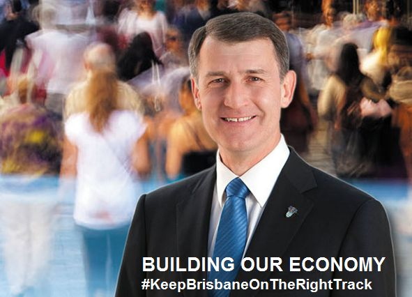 #Brisbane on the Path of Development in the Leadership  of Lord Mayor Graham Quirk #KeepBrisbaneOnTheRightTrack