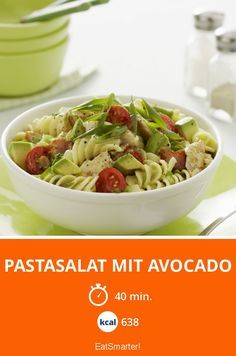 Pastasalat mit Avocado | Kalorien: 638 Kcal - Zeit: 40 Min. | eatsmarter.de