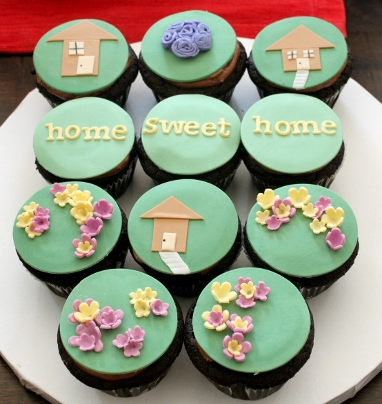 Cupcake, house warming party