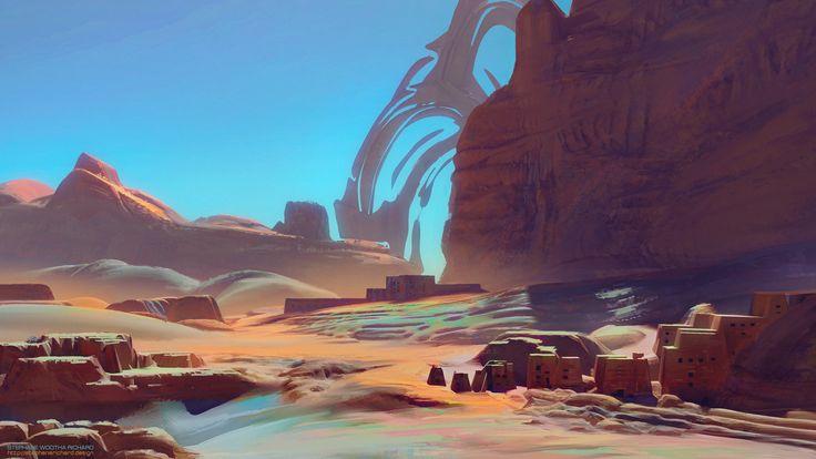 ArtStation - Environment 20161108, Stéphane (Wootha) Richard