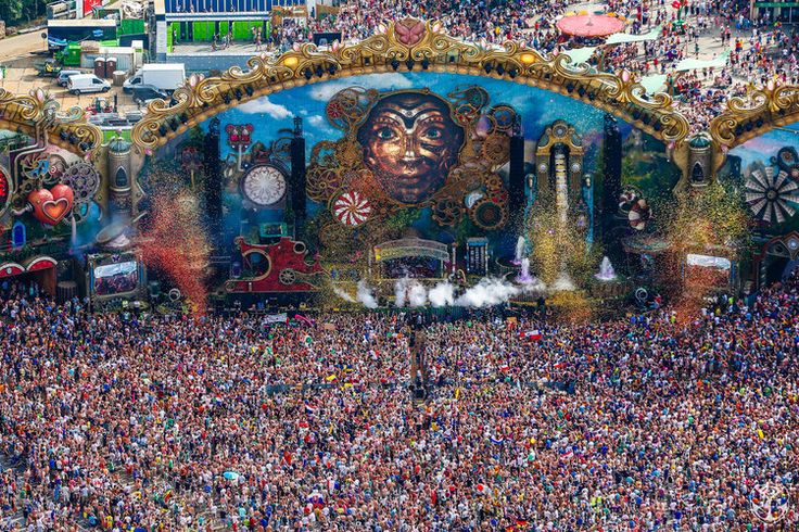 Watch Hardwell and Steve Aoki's full sets from Tomorrowland (Video) — EDM Canada