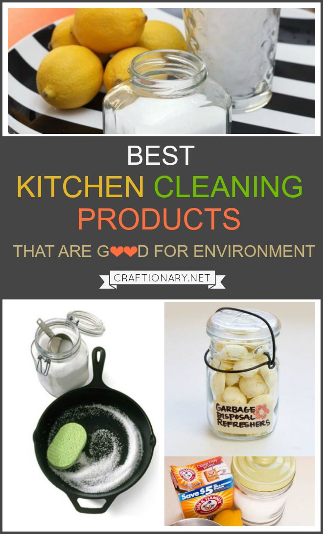 Kitchen cleaning products that are natural and chemical-free are a guide on how to clean your kitchen with homemade products that are good for environment.
