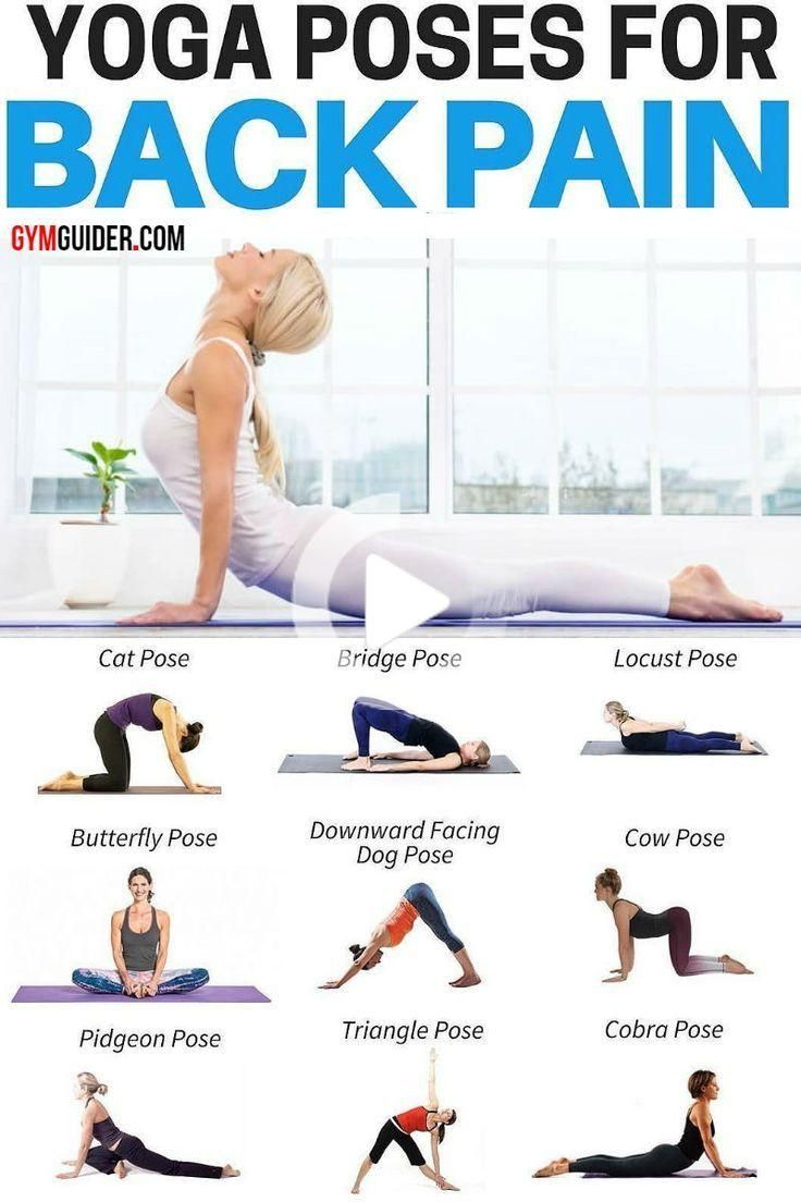 Pin On Yoga Poses For Back Pain