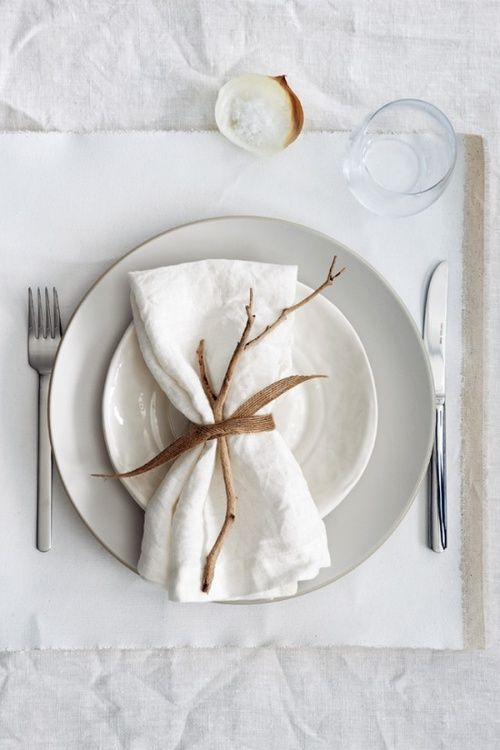 Simple table setting wedding ideas pinterest Simple table setting for lunch