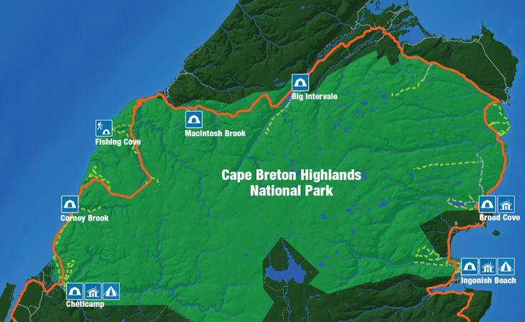 Camping - map