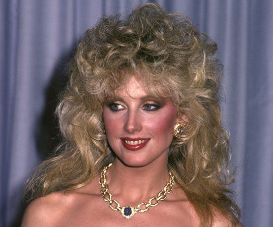 Pin for Later: The Most Iconic Oscars Beauty Missteps of All Time Morgan Fairchild, 1982 Stock in Aqua Net soared through the roof after Morgan Fairchild debuted this 1982 style.