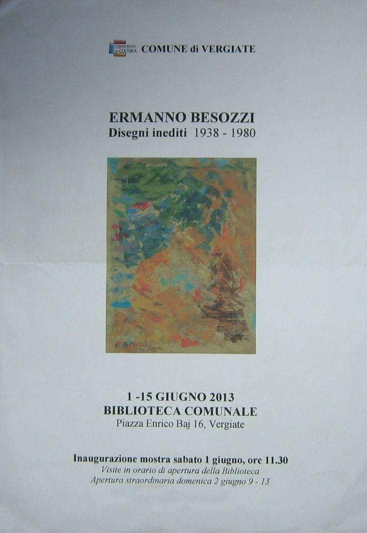 2013 Manifesto Biblioteca Comunale,Vergiate.