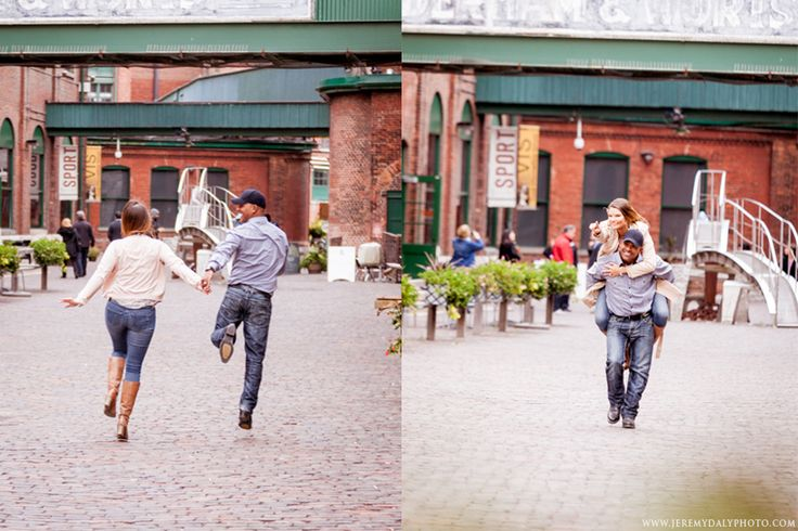 We had a fun Toronto engagement session at The Distillery District, I am shooting a wedding here in the winter and loved the historic site!  For more information visit www.jeremydalyphoto.com/blog // www.torontoweddingphotographs.ca