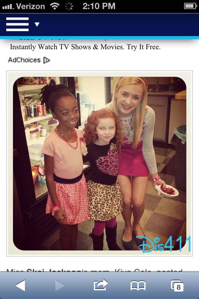 Francesca Capaldi,Ski Jackson and Payton List