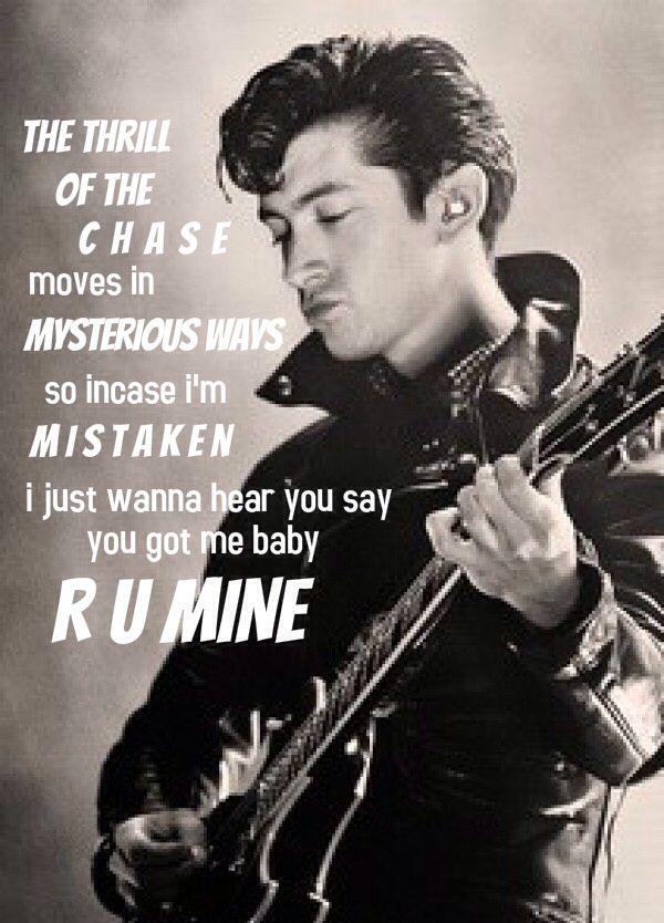 Arctic monkeys R U mine lyrics AM