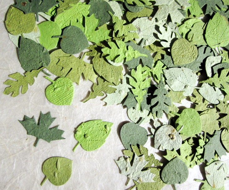 The 50 best cute party ideas and decor images on pinterest seed 100 green seed paper leaves wedding favors leaf confetti plantable flower seed paper leaves mightylinksfo