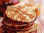 follow to site - these are the good homemade Pizzelle (italian cookies)