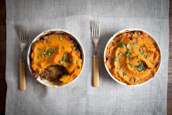 shepherd s pie with sweet potato moroccan shepherd s pie with a creamy ...