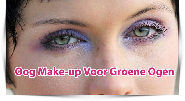 Oog Make-up Tips Voor Groene Ogen
