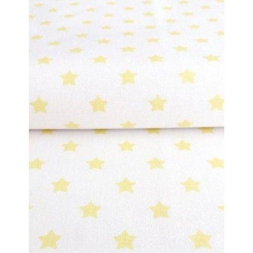 č.2821 Žluté hvězdy na bílé