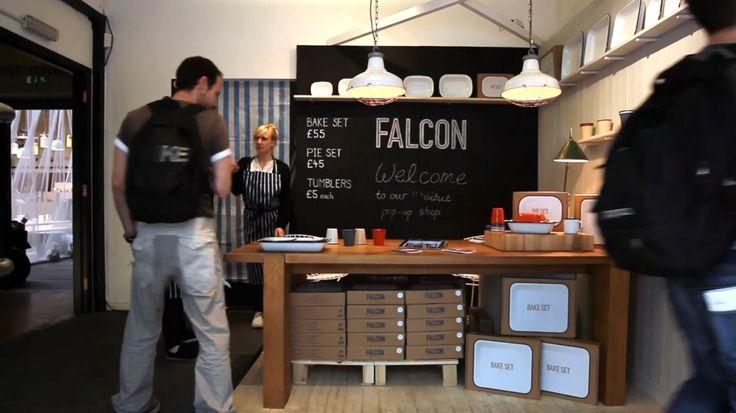 Falcon enamelware Pop-up shop 2011