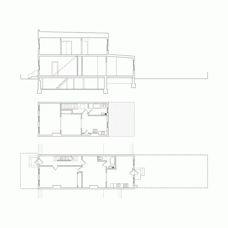 17 best images about narrow house plans on pinterest for Narrow row house plans
