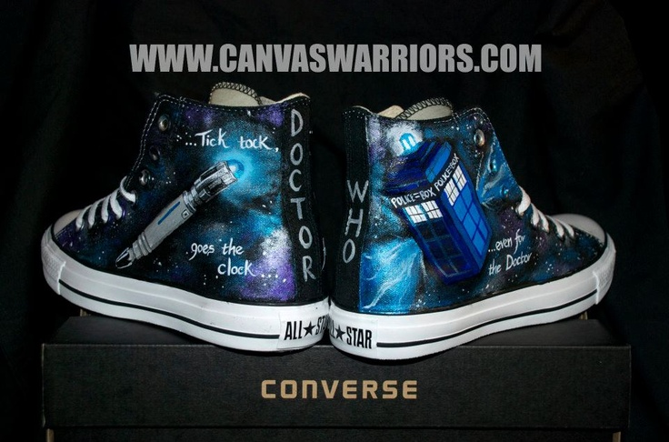 Doctor Who Converse...what?!?! No way!!!!!! These must be mine!!!!!