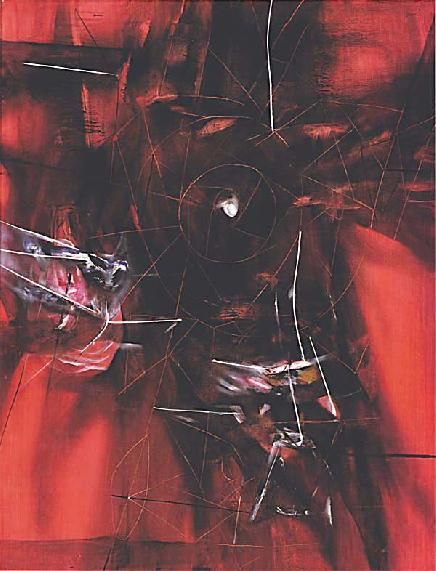 Composition in Magenta: The End of Everything - Roberto Matta