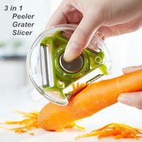 Wholesale 12 in Peeler Grater Slicer Cooking tools vegetable potato cutter Kitchen utensils gadgets Novelty household dandys