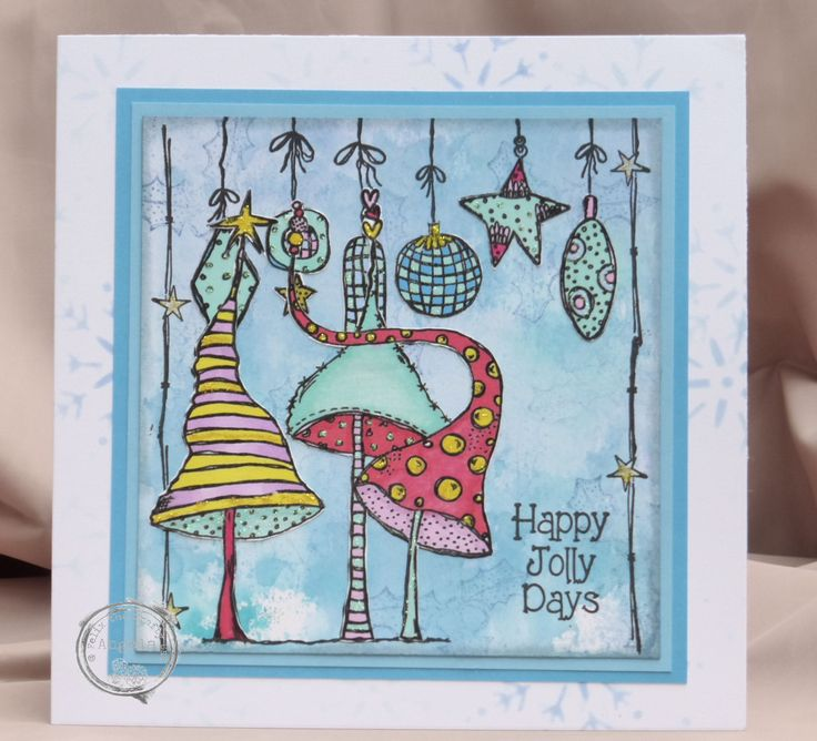 New Christmas card. Made this for the Craft Barn.