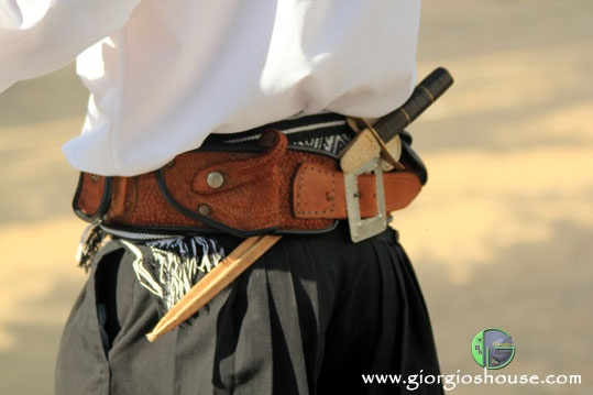 Gaucho belt...with knife of course.