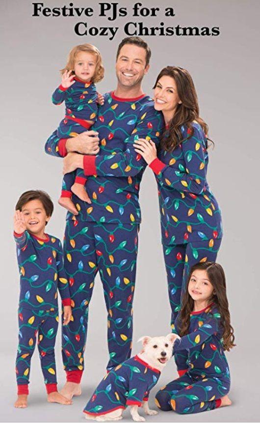 b2c23e46b13e Matching Mommy and Pet Pajamas