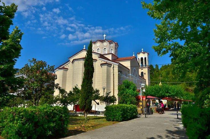 Agios Ioannis o Rossos- St. John the Russian in Evia Island, Greece www.vasiliki-village.gr/