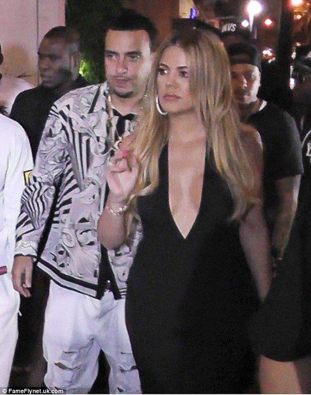 Khloe Kardashian and French Montana rekindle romance in Miami #dailymail