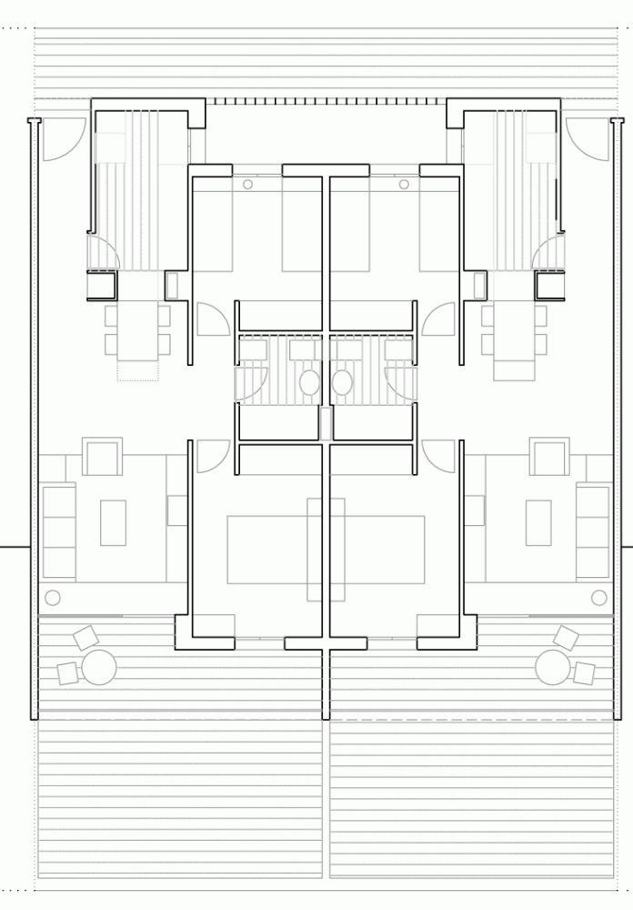 Apartamentos Turísticos y Local Comercial en Valdelagrana / SV60 Arquitectos
