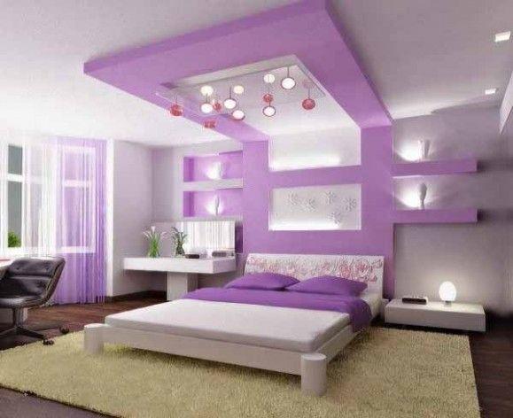 Teen Girls Bedrooms Design   Purple girls bedroom ideas, from wall to accessoris