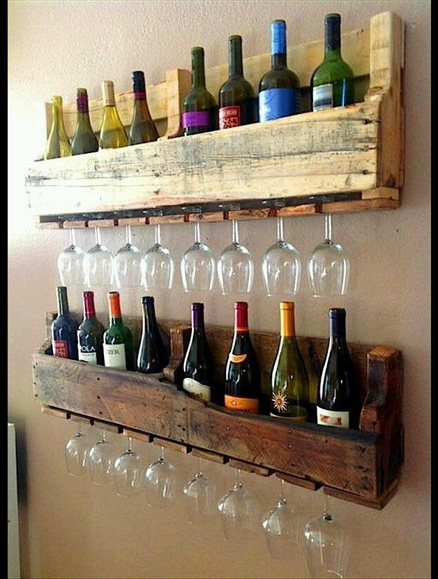 Shelves – Bottle Rack – a unique product by RedDuck on DaWanda
