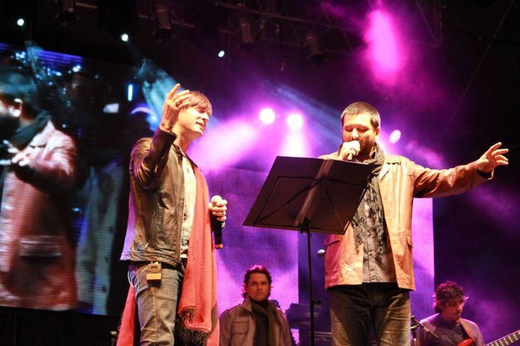 Twitter / AxelOficial: Un placer cantar dos hermosas ...dos grandes Axel y Jorge Rojas