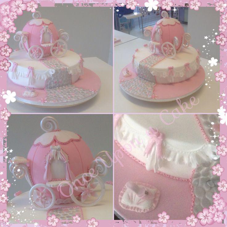PME cinderella carriage cake ! PME eindstuk Assepoester koets cake !