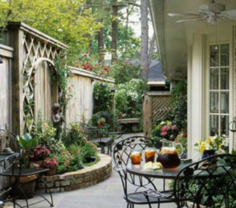 50 cozy small patio on backyard design ideas small patio for Small courtyard landscaping