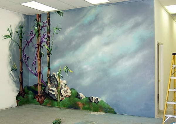 Unique painting ideas for walls art paint pinterest for 3d mural painting tutorial