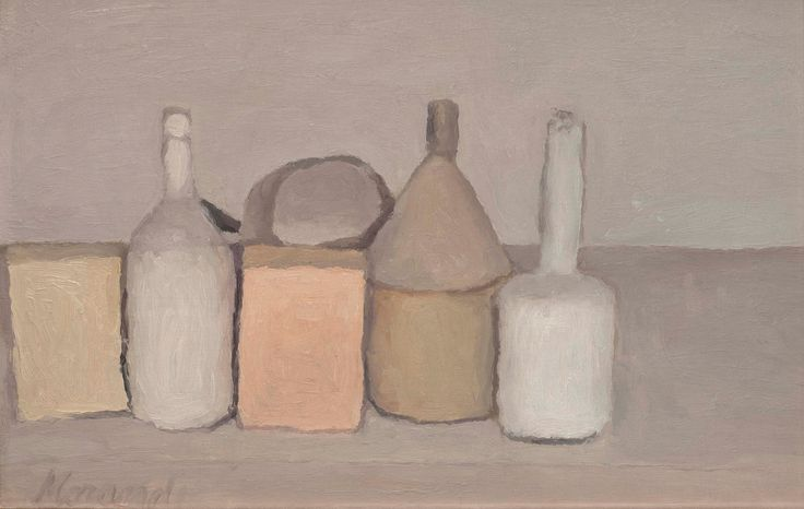Still Life - 1955, 1955 — Giorgio Morandi, Private Collection