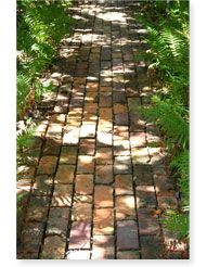 brick path running bond