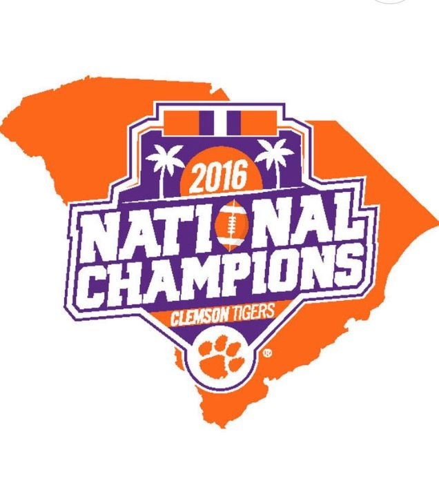 Clemson Tigers 2016 National Champions!!