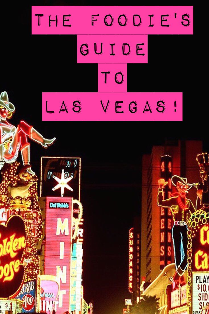 The Foodie's Guide to Las Vegas! From comfort food to fine dining restaurants this list has it all! Don't travel to Las Vegas without reading this!
