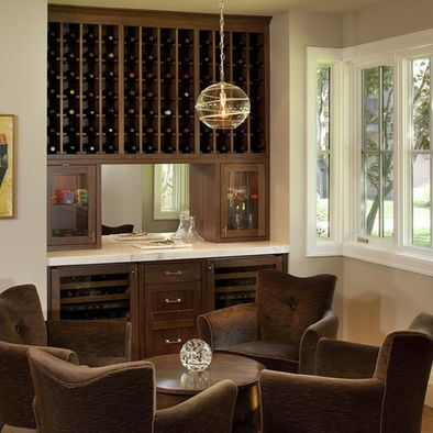 Dining room wine cabinet kitchen bar ideation for Wine pictures for dining room