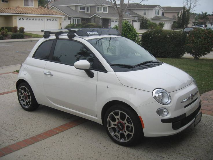 Beautiful My Fiat With The Rack, Excluding The Bike Attachment | Car Stuff |  Pinterest | Fiat, Fiat 500 S And Small Cars