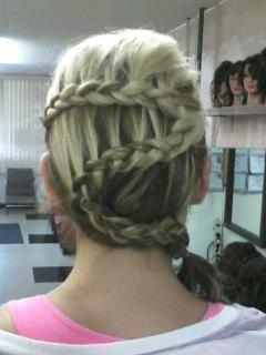 23 best kristis cuts colors styles images on pinterest zig zag french braid ccuart Images