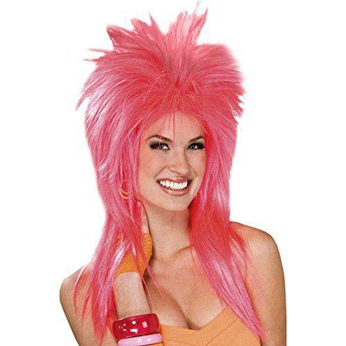 Forum Novelties Women's Pizazz 80's Punk Rocker Costume Wig, Pink, One Size Forum Novelties http://www.amazon.com/dp/B002AJ3XZS/ref=cm_sw_r_pi_dp_PRrVwb0HCBJ7Q