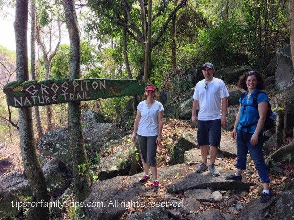 Tips for hiking to the top of Gros Piton on the Caribbean island of St. Lucia. It's a UNESCO World Heritage site.