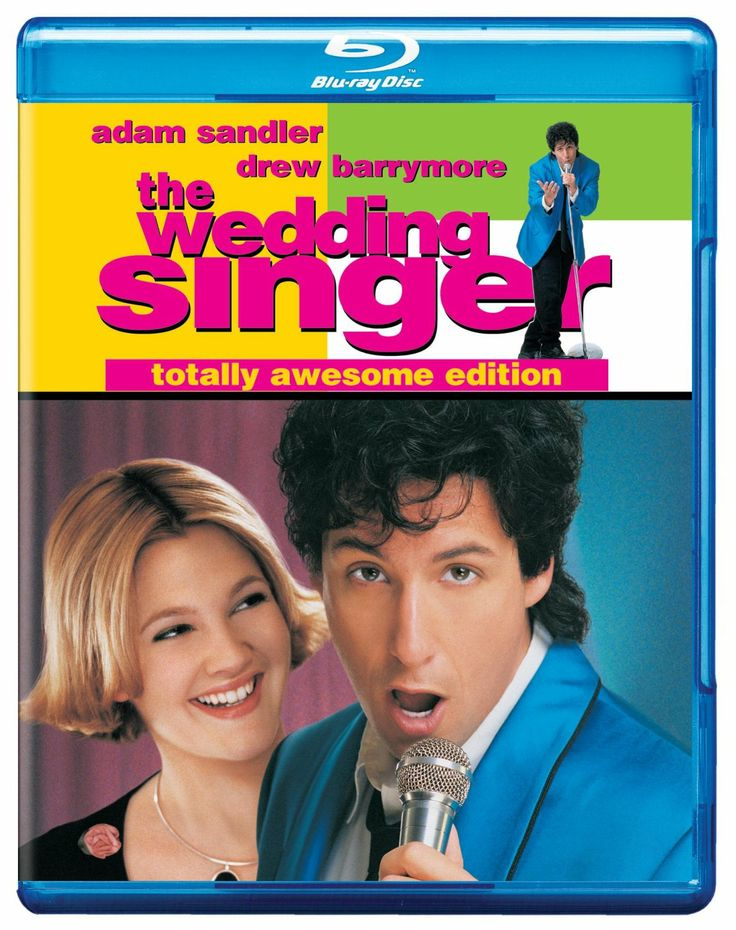 The Wedding Singer (2009) ($9.00) http://www.amazon.com/exec/obidos/ASIN/B001O7JHW0/hpb2-20/ASIN/B001O7JHW0 Really enjoyed watching this movie with my family!!! - This romantic comedy is one of the best movies I have ever seen in my life. - The wedding singer, Robbie, gets dumped at his own wedding, and helps Julia plan her wedding; thats when they fall in love.