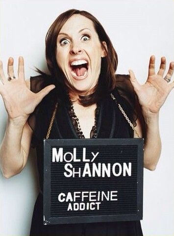 Celebrity Crimes: Molly Shannon - Caffeine Addict
